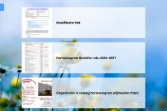 Dotyková obrazovka - Výpis PDF dokumentů
